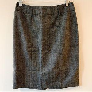 ⭐️5/$25 Roz & Ali Grey Glitter Pencil Skirt